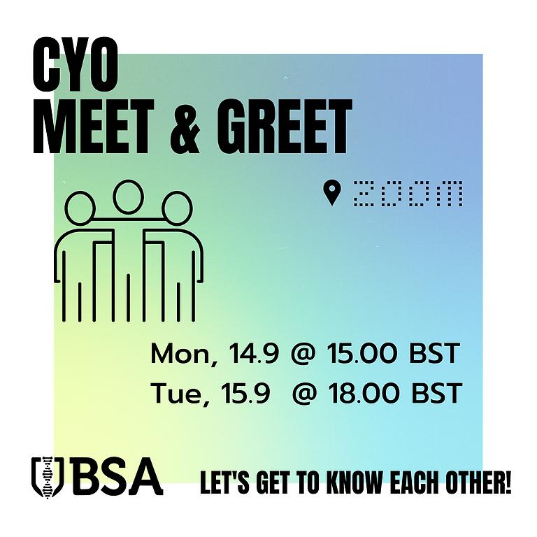 CYO: Zoom Meet & Greet (1)
