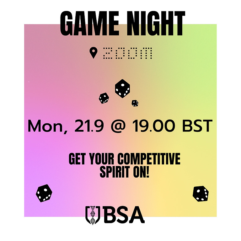 Biosciences Games Night