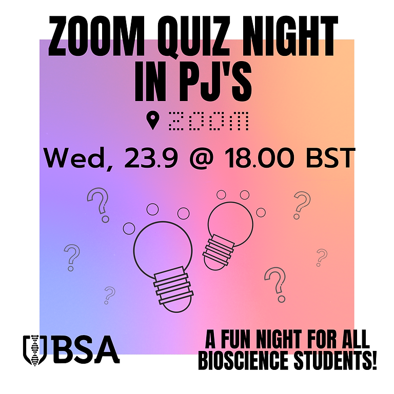 Zoom Quiz Night in PJ's!