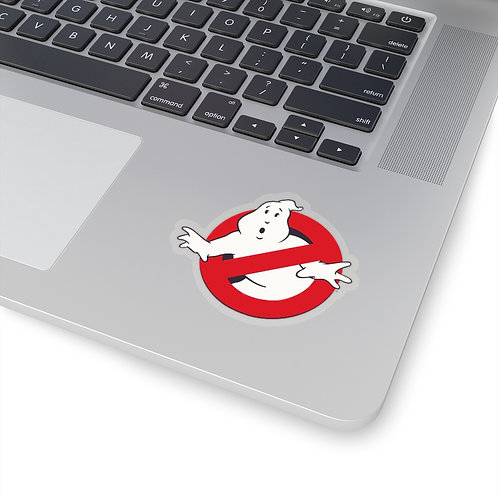 """No-Ghost"" Kiss Cut Stickers"