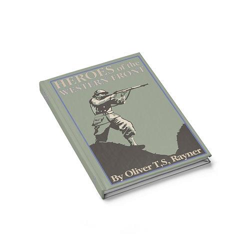 """Steve Rogers """"Heroes"""" Locker Book Journal"""
