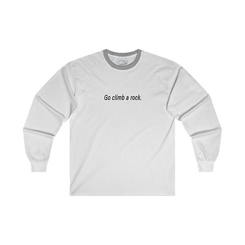 "Captain James T. Kirk's ""Go Climb a Rock"" Shirt"