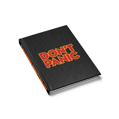 The Hitchhiker's Guide Ruled Journal