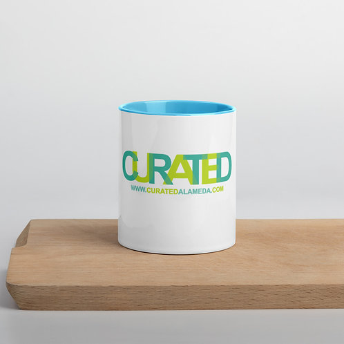 Curated Mug with Color Inside