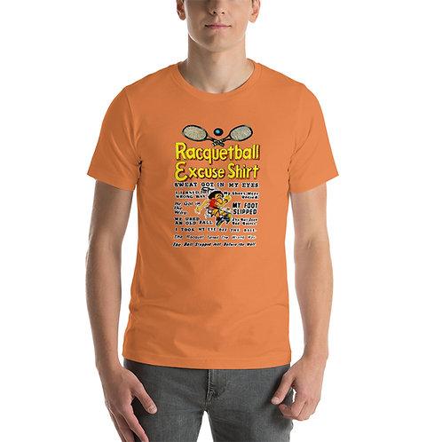 RDJ's Racquetball Excuses Shirt