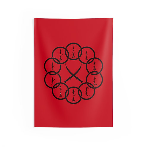 The Ten Rings Wall Tapestries
