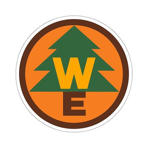 Wilderness Explorer Bubble-free Stickers