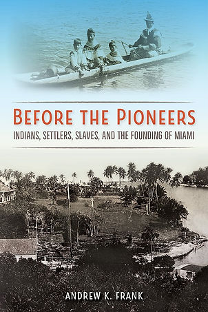 The cover of Before the Pioneers