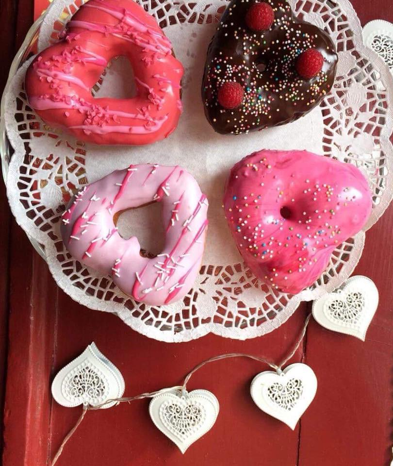 valentýn valentine donut