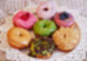 čerstvé lahoné donuty artisian donuts