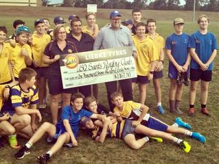 USQ Saints final recipients of Community Sporting Kickback Program!