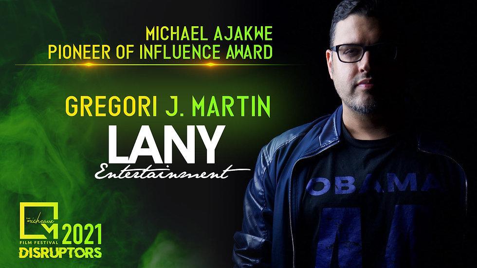 Pioneer of Influence - Gregori Martin.jp