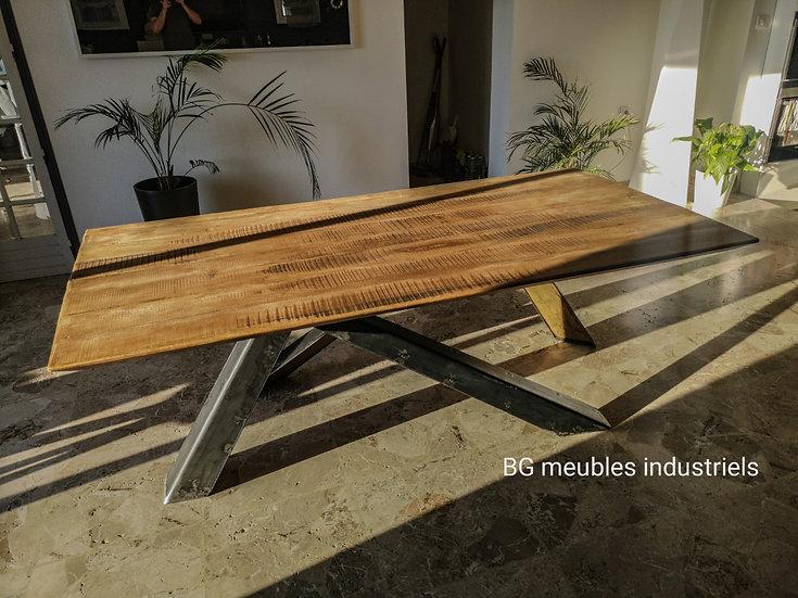 """Table double """"V"""" réf115"""