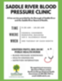 Saddle River Blood Pressure Clinic
