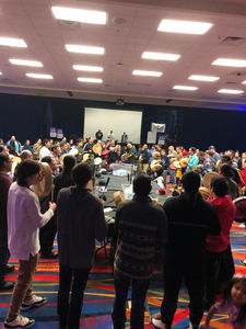 Huge turnout for 1st Annual Round Dance