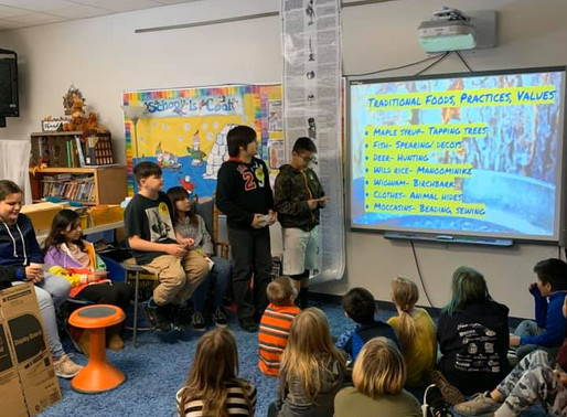 LCO Students Share Treaty Knowledge with Hayward 4th Graders