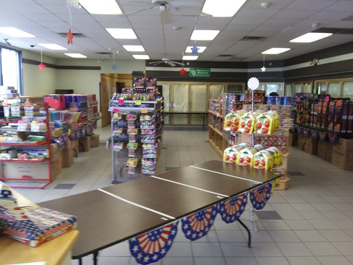 Tribal Fireworks on Sale Now at the C2 Travel Plaza