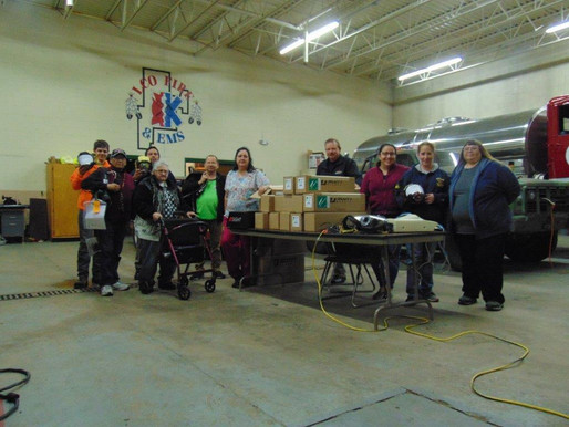 LCO Fire Department Receives Generous Donation
