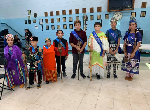 LCO School Royalty honored at powwow