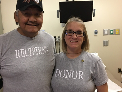 Local Couple Doing Great after Wife Gives Husband a Kidney
