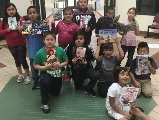 Third Graders Get Books at Book Fair