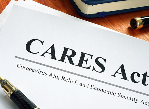 New Update on CARES Act Project Budget