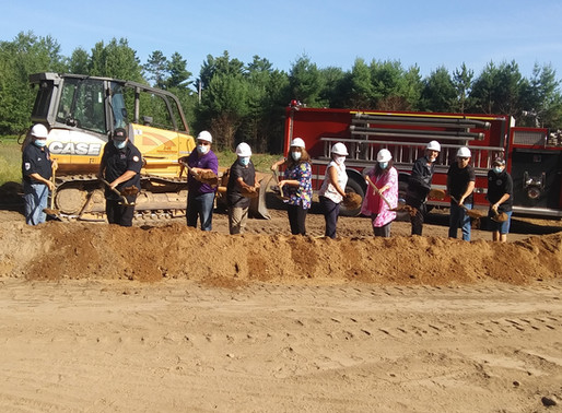 Groundbreaking Held for New Fire Hall