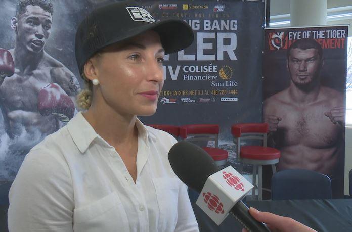 Un combat de boxe professionnelle au féminin à Rimouski