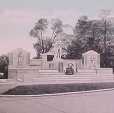 Perrysburg Monument 1940