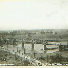 Maumee/Perrysburg Bridge ca 1910