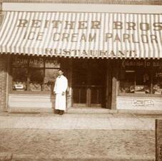 Reither Bros Restaurant ca 1900