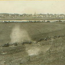 Fort Meigs View of Maumee ca. 1910
