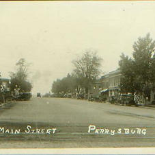 Louisiana Ave Looking South 1920