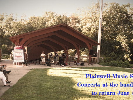 CONCERTS AT THE BANDSHELL PERFORMANCE UPDATE