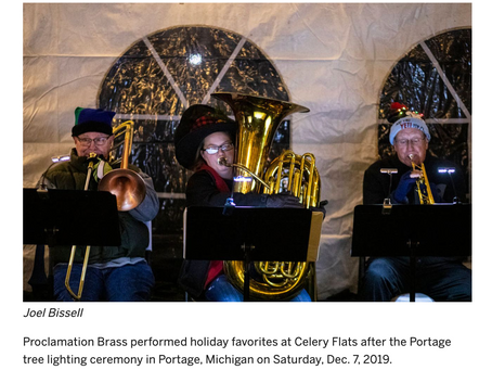 From Traditional Sacred to Dixieland - It's PROCLAMATION BRASS!
