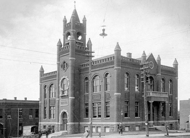Guthrie's Original City Hall