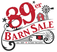 89'er Barn Sale Logo, Guthrie Oklahoma