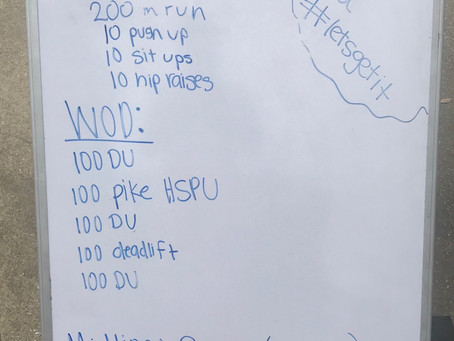 Home Workout: Day 7 (3/23)