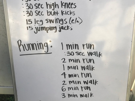Home Workout: Day 9 (3/25)