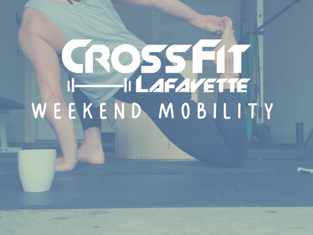 Weekend Mobility: Day 19