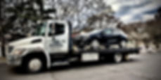 Gleaming clean and professional towing services