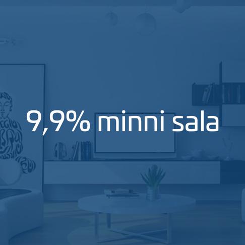 9,9% færri kaupsamningar miðað við í fyrra