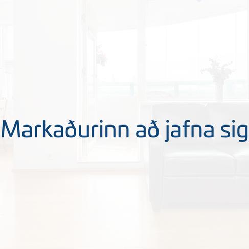 Markaðurinn að jafna sig