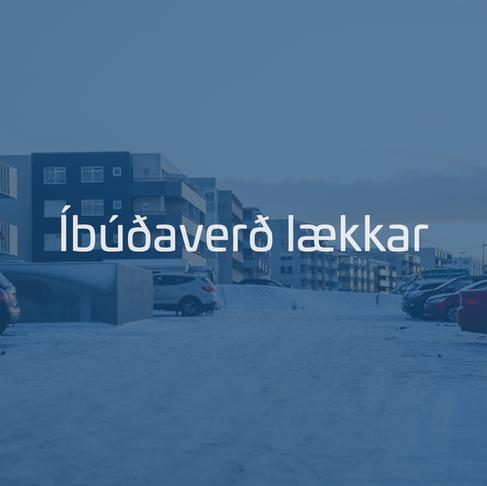 Íbúðaverð lækkaði um 0,3%