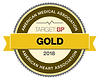 American Heart Association Target:BP – Gold-level recognition logo