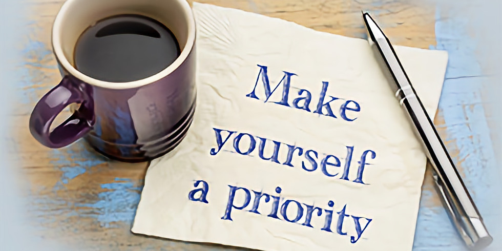 How to make yourself a priority
