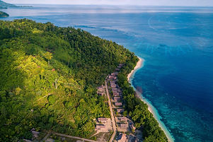 Batanta Raja Ampat Traditional Village.j