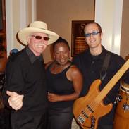 J.Robert with Martin and Sabrina