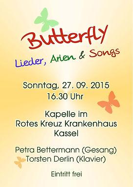 Butterfly in Kassel 2015