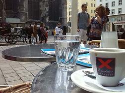 Wien vor dem Konzert im Stephansdom